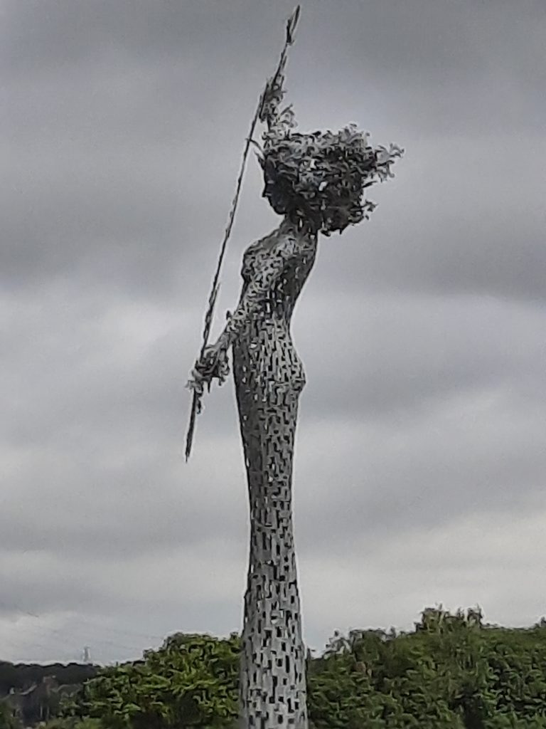 River Spirit, Collylands roundabout, Fishcross